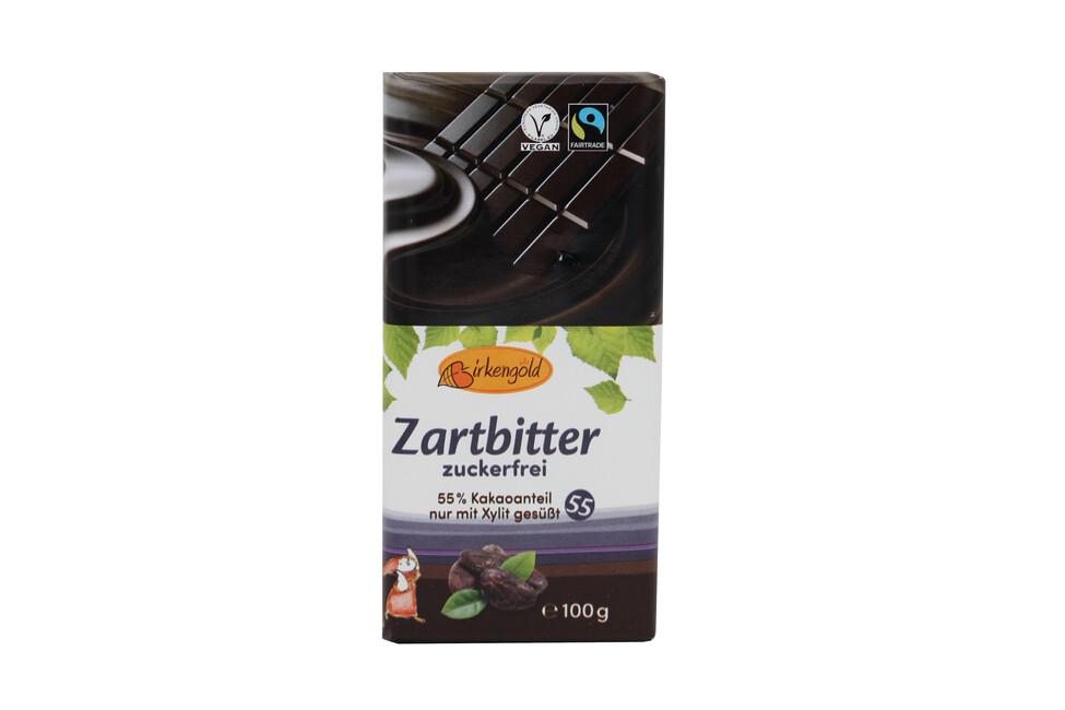 Birkengold Zartbitter Schokolade