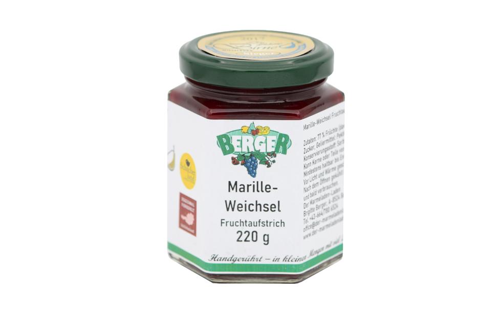 Marille - Weichsel Marmelade