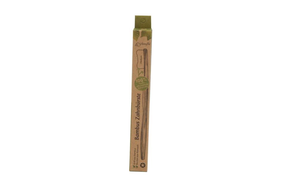 Birkengold Bambuszahnbürste Erwachsene