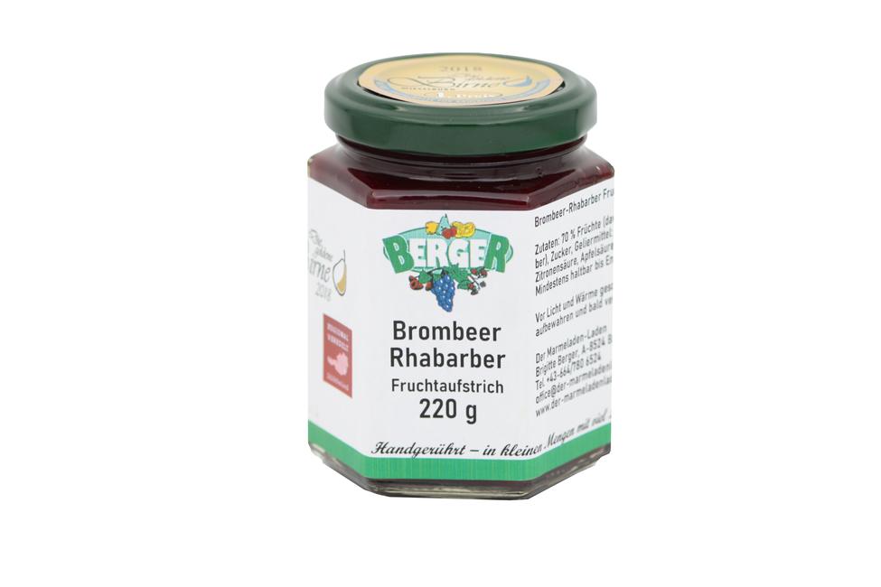 Brombeer - Rhabarber Marmelade