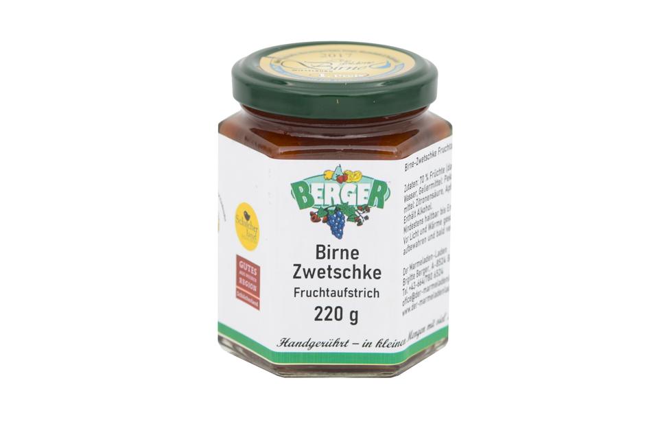 Birne - Zwetschke Marmelade