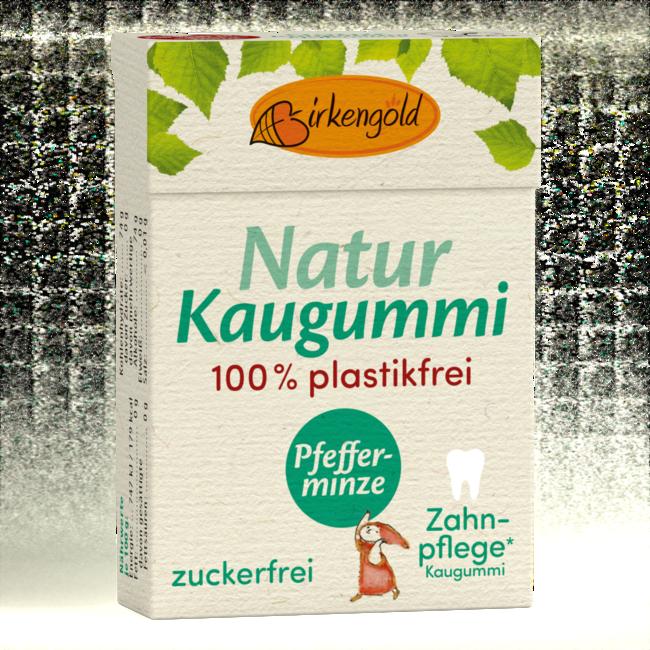 Birkengold Xylit Kaugummi Pfefferminz