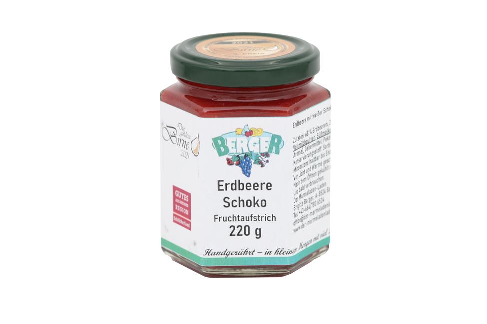 Erdbeer - Schoko Marmelade