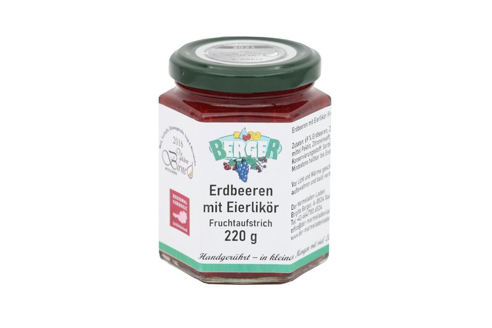 Erdbeer - Eierlikör Marmelade