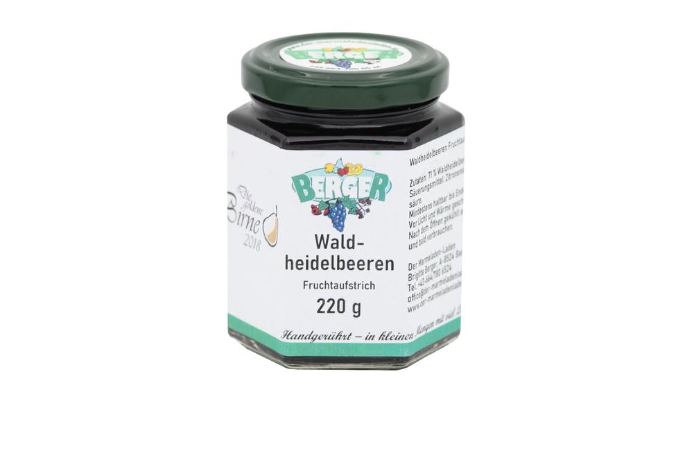 Waldheidelbeer Marmelade