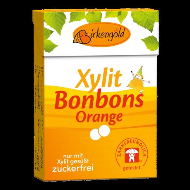 Birkengold Xylit Bonbons Orange