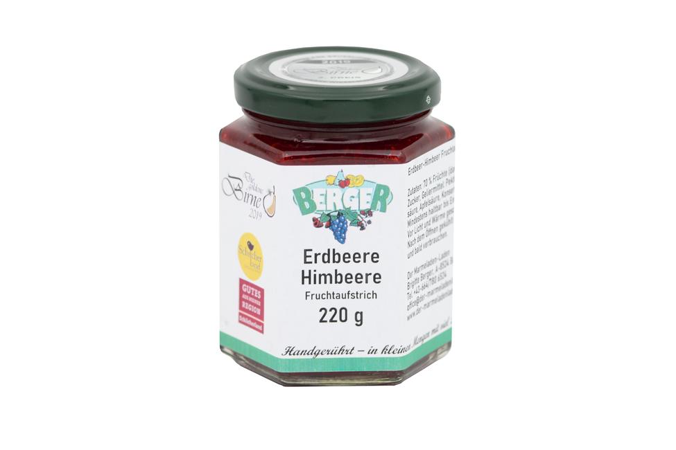 Erdbeer - Himbeer Marmelade