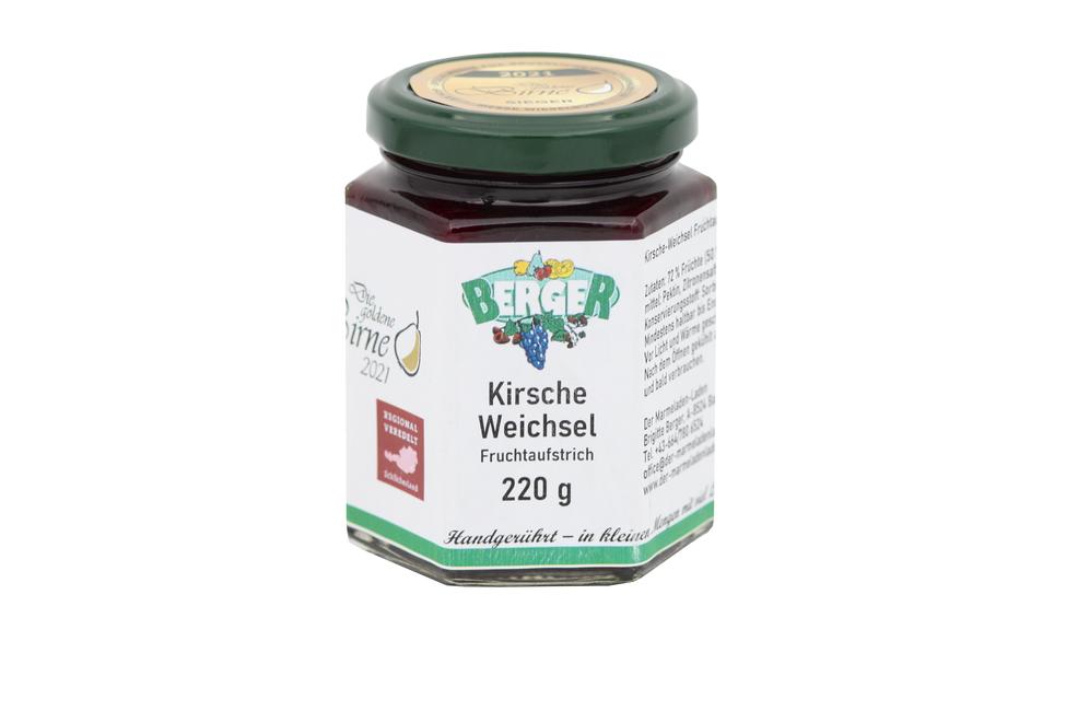 Kirsche - Weichsel Marmelade