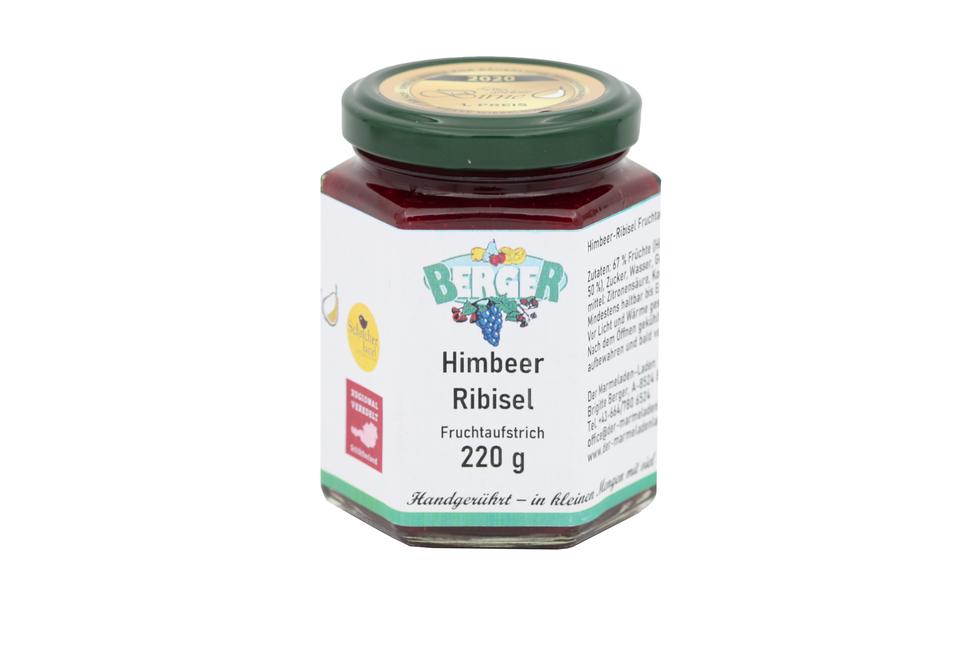 Himbeeren - Ribisel Marmelade