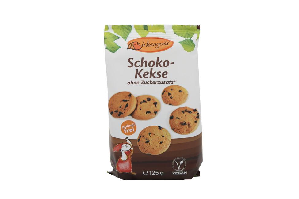 Birkengold Schoko Kekse