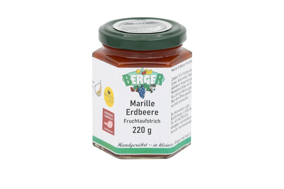 Marillen - Erdbeer Marmelade