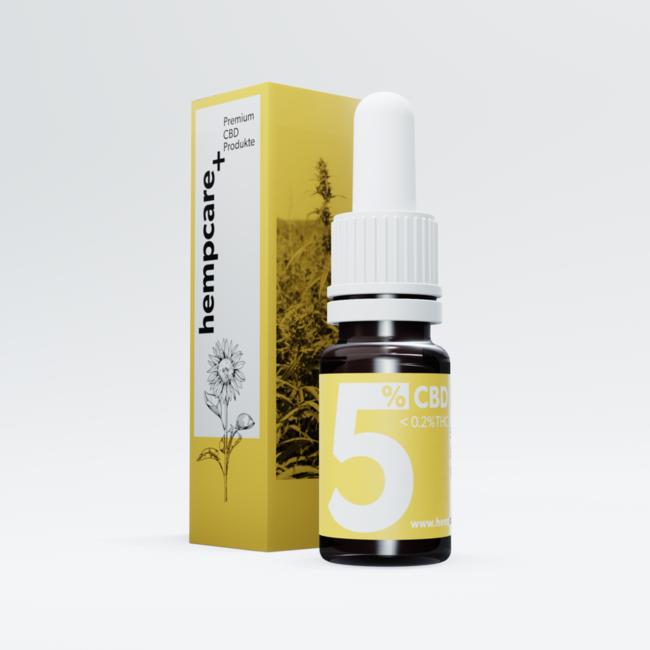 CBD Sonnenblumenöl 5%