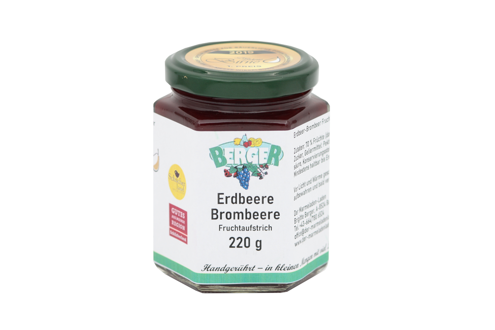 Erdbeer - Brombeer Marmelade